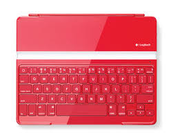 paint the town red with the logitech ultrathin keyboard cover