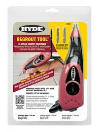Regrouting Floor Tiles Tips by Hyde Regrout Tool 19500 Fast Grout Removal Hyde Tools
