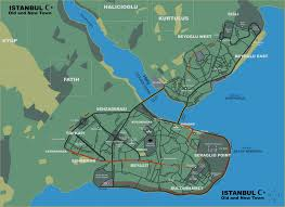 Map Of Istanbul Image Istanbul Map Jpg Driv3r Wiki Fandom Powered By Wikia