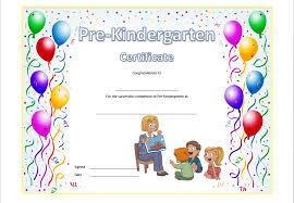 kindergarten certificates pre kindergarten diploma certificate 8 professional and high