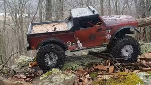 jeep nukizer axial 2 axial scx10ii trailing in back mountain nepa youtube