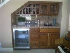 Small Basement Kitchen Ideas A Mini Kitchen Under The Stairs Great For A Basement Ideas For