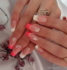260 best pretty nails french tip images on pinterest nail art