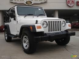 white jeep 4 door 2006 stone white jeep wrangler sport 4x4 right hand drive
