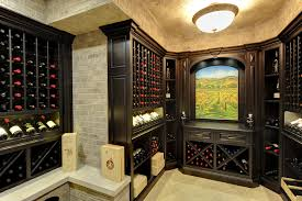 custom wine cellar project u2013 experience tuscany at your home