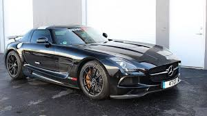 mercedes sl amg black series 2014 mercedes sls amg black series by renntech review top speed
