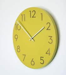 yellow wall clock uk amazing wall clocks modern 4 wall clocks