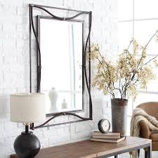 furniture black leaner mirror with bookcase on wooden floor for beautiful mirror design ideas home caprice bedroom interior design interior design school nyc