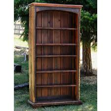 real wood bookcases and rustic bookcase designs pertaining to