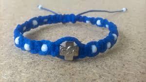 white bead bracelet images Handmade christian blue with white beads prayer ropes beads jpg