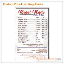 shellac nails price list images