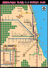 Chicago Trains Map by Super Mario Bros U0027l U0027 Map Chicago U0027s Transit System Gets The