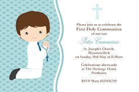 communion invitations for boys communion invitations boy marialonghi