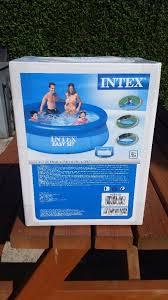 8ft paddling pool intex easy set pool 8 u0027x 30