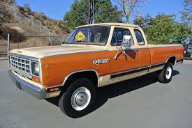 Classic Chevy Trucks 80s - 1981 dodge w250 power ram 4x4 club cab pickup truck 1 owner 35k