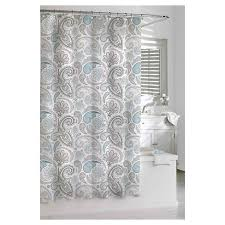 Shower Curtains For Blue Bathroom Paisley Shower Curtain Blue Gray Kassatex皰 Target