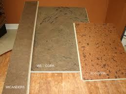 solid cork flooring interiors