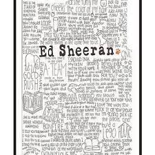 ed sheeran lyrics quotes ed sheeran lyrics iphone case by from redbubble wishlist 3