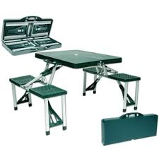 fold out picnic table home hardware green folding picnic table