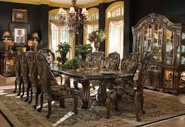 aico oppulente 67002 52 dining room collection
