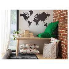 klAtta decoration stickers blackboard world 60x103 cm ikea ikea klAtta decoration stickers