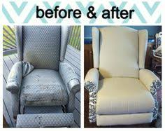 Reupholster Armchair Cost Re Covering A Recliner No Sewing Necessary I Really Want To