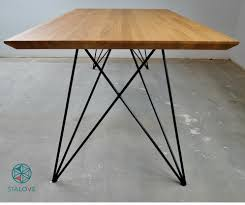 in metal table legs butterfly steel table legs metal table legs i handmade tables and