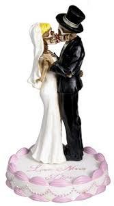 skeleton wedding cake toppers wedding cake toppers wikii