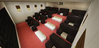 furniture home minecraft home movie theater entertainment room creations