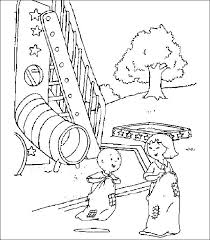 coloring pages caillou picture 9