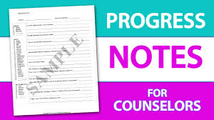 Writing Counselling Session Notes Write Progress Notes The Easy Way A Progress Note Template