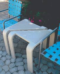 Concrete Garden Furniture Molds by