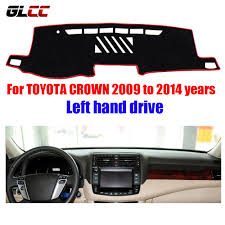 toyota harrier lexus left hand car dashboard cover mat for toyota crown 2009 to 2014 years left