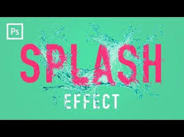 reference resume minimalistic logo animation tutorial photoshop tutorials water splash effect displacement mapping