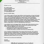 medical office cover letter letters font
