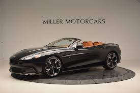aston martin matte black 2018 aston martin vanquish s volante stock a1242 for sale near