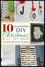 10 incredible diy christmas wall art ideas you still have time to