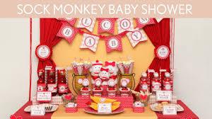 sock monkey baby shower ideas sock monkey s2 youtube