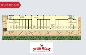 cherry county commercial shops in noida extension actual images