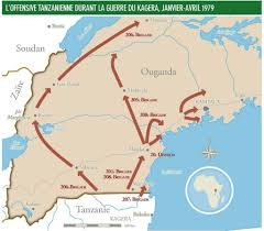 Map Of Uganda Uganda U2013tanzania War Weapons And Warfare
