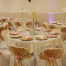 quinceanera table decorations quinceañera 5 9 2015 gold chagne and pink accents setup for