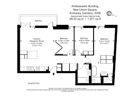 3 bedroom apartments to rent in ambassador building 5 new union