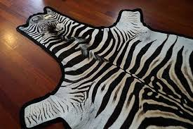 Genuine Zebra Rug Felted Zebra Skin Rug Grade B U2013 Outsourcesol Llc