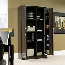 sauder 411572 homeplus storage cabinet dao dakota oak finish new