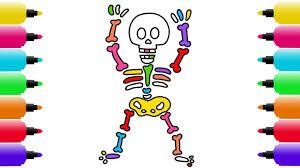 halloween drawing coloring pages for kids how to draw a dancing