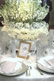 table decorations silver table decorations silver table centerpieces amazing silver