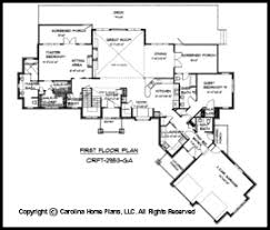 large craftsman style house plan crft 2953 sq ft luxury home