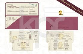 Boarding Pass Wedding Invitations Pearl On The Corniche 01 Boarding Pass Wedding Invitation