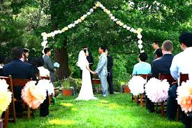 Backyard Wedding Centerpiece Ideas Backyard Wedding Decor Amazing Backyard Wedding Ceremony Decor
