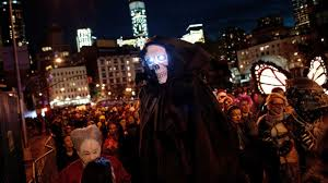 nyc village halloween parade see photos from the 43rd annual
